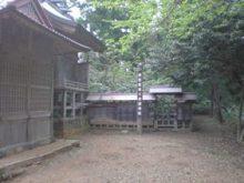 古事記おじさんのブログ-久米神社奥宮柱