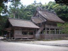 古事記おじさんのブログ-神魂神社