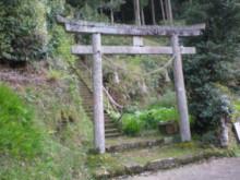 古事記おじさんのブログ-剣神社鳥居