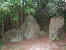 古事記おじさんのブログ-黄泉比良坂 千引岩