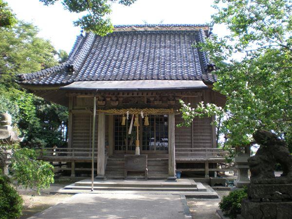 妻木壹宮神社 拝殿